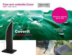 Garden Impressions Coverit free-arm parasolhoes 240x68
