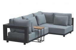 4 Seasons Outdoor Metropolitan loungeset serie I - antraciet