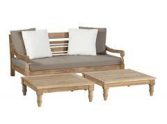Exotan Kawang stoel-bank loungeset - serie II